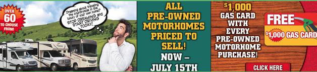 Wilkins RV Summer RV Sales Event Motorhome Sale Used RVs