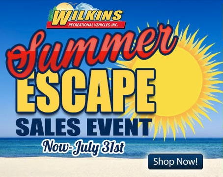 Wilkins RV Summer RV Sales Event New and Used RVs