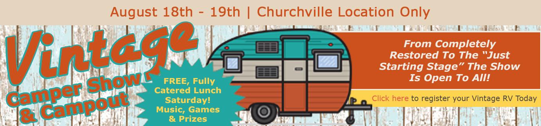 Vintage Camper RV Show Wilkins RV
