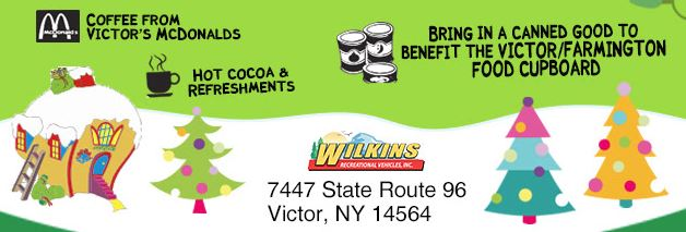 Wilkins RV Whoville Event December 8th 2019 Victor, NY Free
