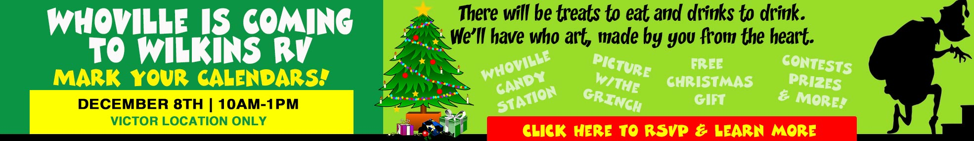 Wilkins RV Whoville Event December 8th 2019