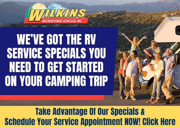 RV Service Specials