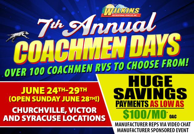 Coachmen Days Event