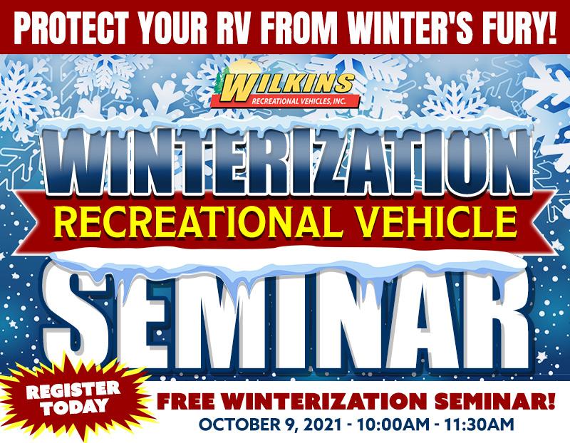 RV Winterization Seminar