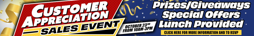 Save Thousands on a New RV, Service, Parts & More During Our Customer Appreciation Sales Event!